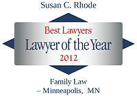 Rhode, Susan - Best Lawyers Lawyer of the Year (2012)