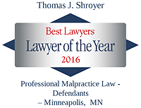 Shroyer, Thomas - Best Lawyers Lawyer of the Year (2016)