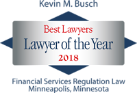 Busch, Kevin - Best Lawyers Lawyer of the Year (2018)