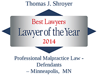 Shroyer, Thomas - Best Lawyers Lawyer of the Year (2014)