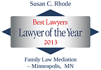 Rhode, Susan - Best Lawyers Lawyer of the Year (2013)