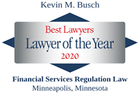 Busch, Kevin - Best Lawyers Lawyer of the Year (2020)